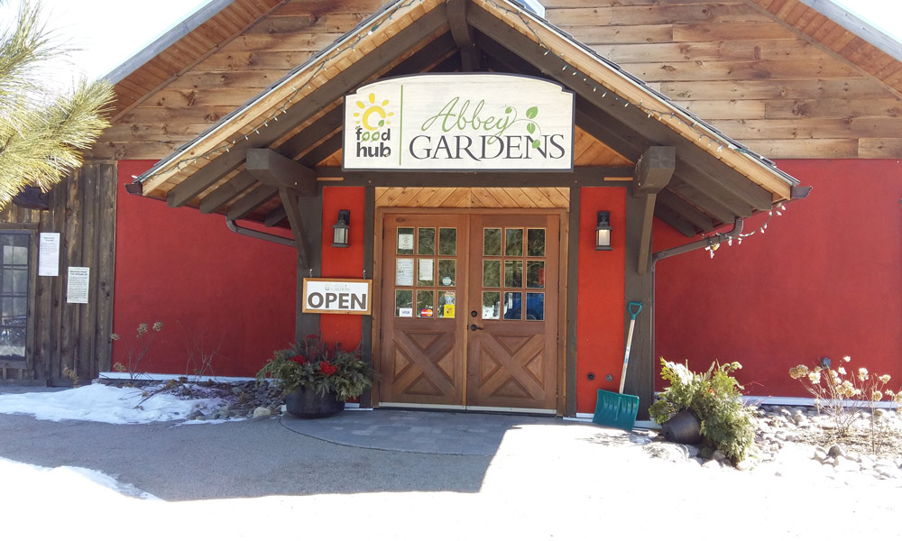 Food Hub at Abbey Gardens in Haliburton